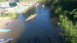 Spływ kajakowy Mazury